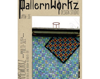 Patternworkz Frameworkz in a Wide Choice of Design Colors and Sizes Quilt Pattern
