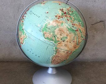 World Travelers Globe by Nystrom