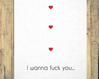 Funny Anniversary Card/Handmade Card/Funny Valentines Card/Funny Greeting Card/Funny Love Card/Super Smash Bros/Card for Him/Naughty Card