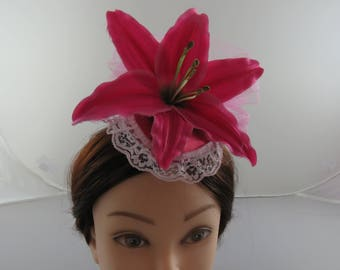 Pink Lily Facinator