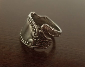 Antique Hamilton Spoon Ring