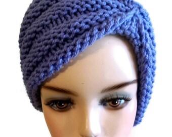 Knitting Pattern Turban Hat