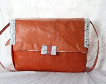 Diaper bag from recycled fused plastic