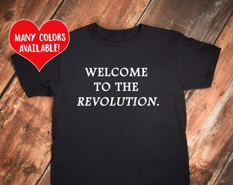 Revolution, Statement Shirt, Protest Shirt, School Walkout, Political Shirt, School Protest, Enough Shirt, Protest Statement, Protest Quote