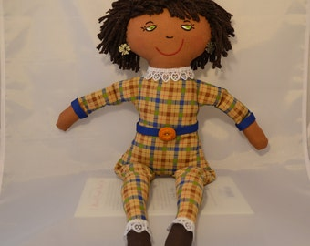 Handmade In The USA Cloth Doll