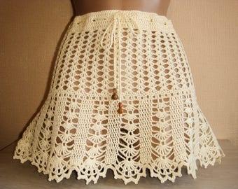 Skirt, beach skirt, Summer mini skirt, summer beach