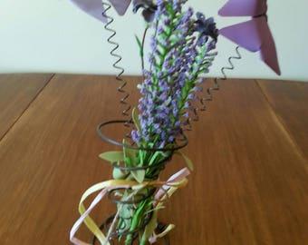 Butterfly floral arrangement - Bed Spring