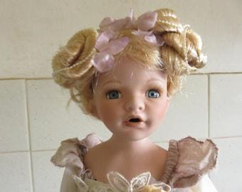 Beautiful Vintage Porcelain Doll