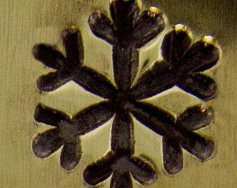 IMPRESSART DESIGN STAMP - snow flake large 6mm (PN6409)