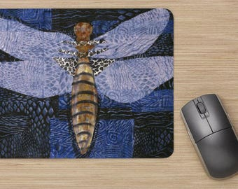 Mouse Pads - Dragonfly Series from artist's original art.