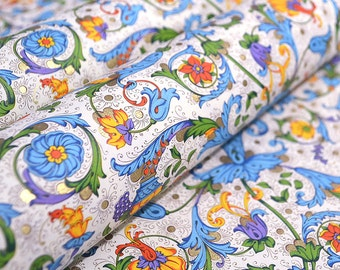 Rossi Italian Traditional Florentine Style Paper - Fruits and Flowers