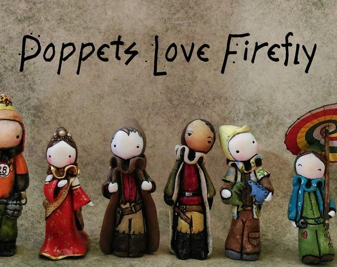 Firefly Poppet -River, Book or Simon