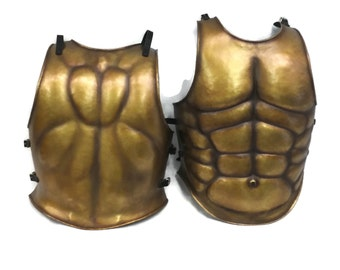 Larp Armor Muscle breastplate, cuirass, body armour, roman, greek, medieval armor, SCA, LRP