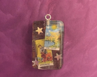 Birth Tarot Card Necklace