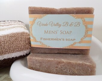 Fishermans Soap, Fishermans Bar Soap, Fishermans Soap Bar, Anise Soap, Black Licorice Soap, Handmade Soap, Natural Soap, Vegan Soap