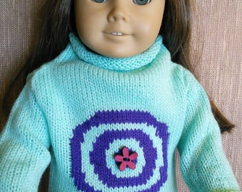 Original sweater for 18 inch doll