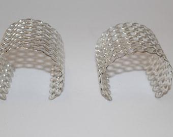 Two Fun Silver Cuffs