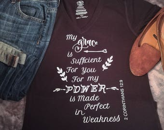 Grace is sufficient T-shirt