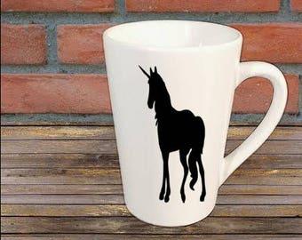 Unicorn Mug Coffee Cup Gift Home Decor Kitchen Bar Gift for Her Him Jenuine Crafts