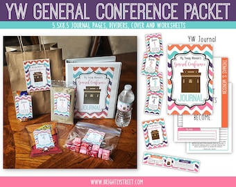 Young Women LDS General Conference Packet