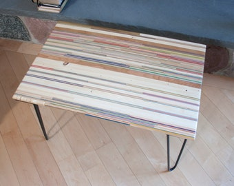 "Recycled Skateboard Coffee Table 28.5"" x 19"" x 16.75"""