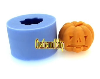 Halloween pumpkins Candle Mold Soap Molds Flexible Silicone Mould Candle Candy Cake Fimo Resin Crafts diy Mould