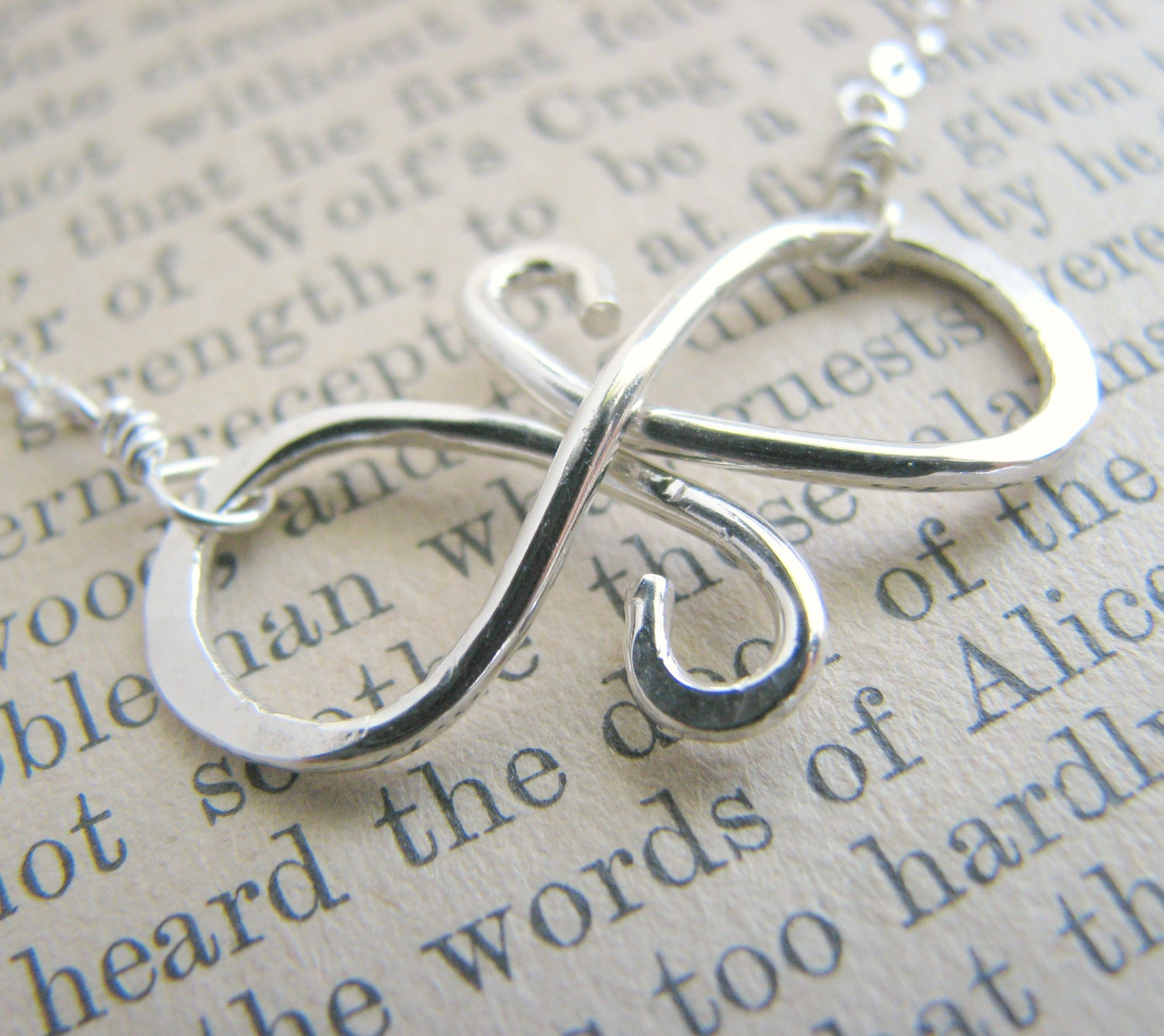Infinity symbol necklace sterling silver gift best friends zoom biocorpaavc