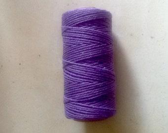 Purple Bakers Twine, 50 Meters Cotton Bakers Twine.  Purple Twine, Craft Twine.  Package Twine