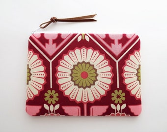 Sunflower fabric purse - small cosmetic bags - sunflower gifts for women - floral zipper purse - flower pouches bag - best gifts for mom