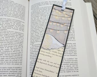 Torn Pages Bookmark