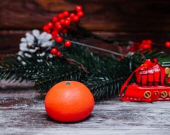 Soap Orange Mandarin - Soap, Wedding Soap Favors, Party Favors, Kids Soap, Fruit Soap, French Soap, Dessert Soap
