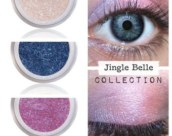 Jingle Belle Make Up, Natural Makeup, For Eyes, Shimmer Finish, Holiday Colors, For Winter, Fun With Color, Happy Holidays, Eye Color Kit