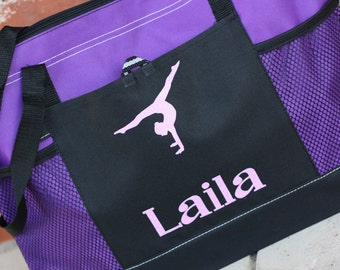 Personalized Dance Bag, Custom Gymnastics Bag, Ballet Bag