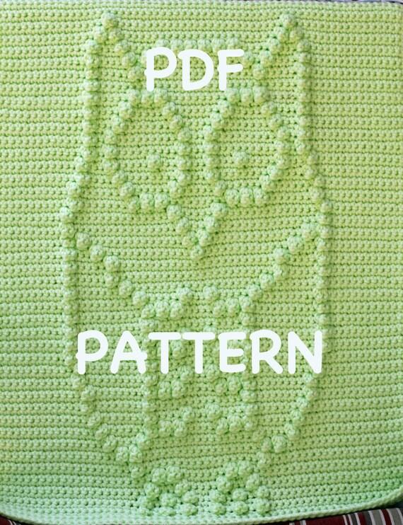 Hooty the Owl Baby Blanket Pattern - Crochet Pattern - Crochet Baby Blanket  - Baby Snuggle Blanket  - Car Seat or Stroller Blanket