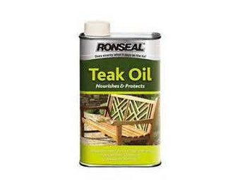 Teak Oil treatment for headlock