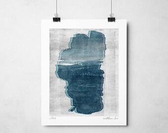 Tahoe Blue Print
