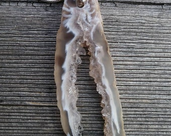 OCO Geode Slice Necklace