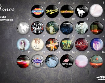 Collection sheets Deftones / / Deftones button collection