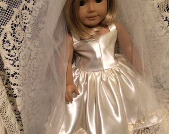 Say yes to the dress for the American Girl Doll