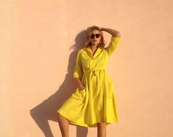 Golden Delicious Vintage Sundress