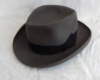 Vintage old Borsalino & old Borsalino hat Vintage Hat