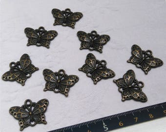 Butterfly connector pendant