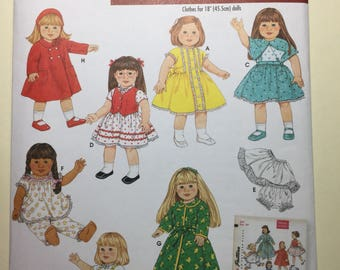 SImplicty Pattern 4347 - Doll Clothes