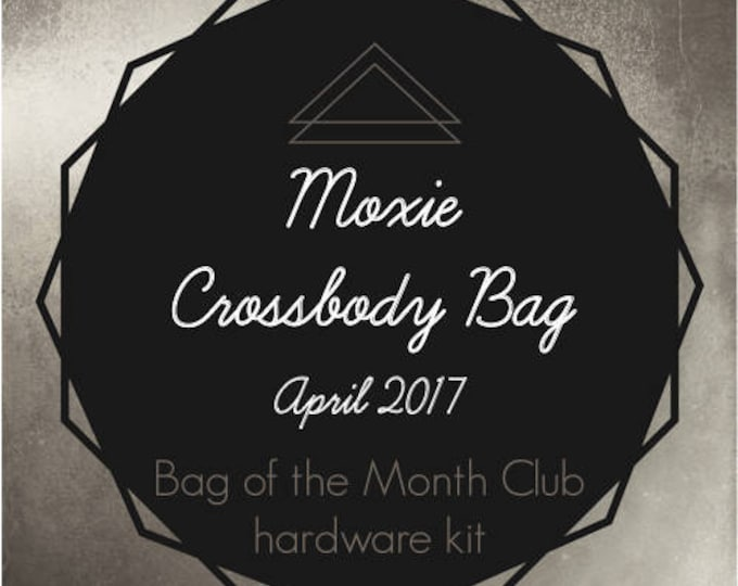 Moxie Crossbody Bag Hardware Kit - Bag of the Month Club - April 2017 Hardware Kit