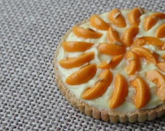 Miniature Apricot Frangipane Tart