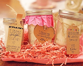 Handcrafted Scented Soy Candles ~ Hand Poured with Love