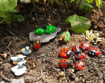 Miniature Critters/Creatures/Animals/Birds/Bugs/Insects etc. - Fairy Garden/Terrarium/Garden