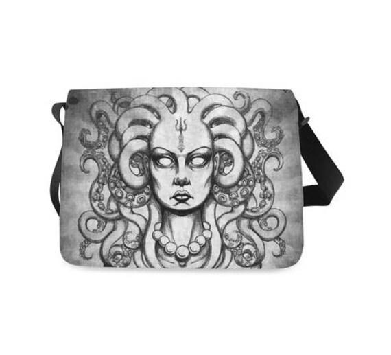 Medusa Tentacle messenger bag