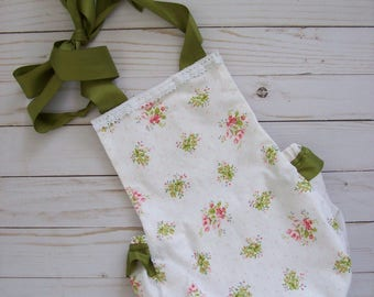 Summer Romper,Baby Girl Romper,Birthday,Floral Outfit,Shabby chick Romper,Halter Romper,Ruffle Romper,Bloomers,Toddler Clothes,Bubble Romper