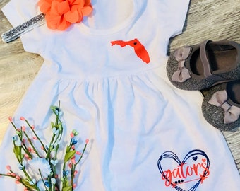 University of Florida Gators DressLove Florida Gators baby dress